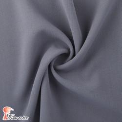 PIERO. Tejido de doble tela liso 100% poliéster con spandex. Aconsejable para pantalones.