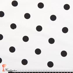 JENNY. Tela satinada elástica ideal trajes de flamenca muy entallados. 2 cm