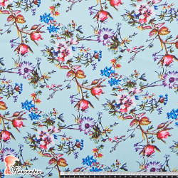 PRIMAVERA. Printed fabric, slightly elastic.