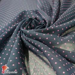 RAIZA. Thin chiffon fabric, with printed stars.