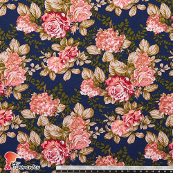 HARU. Printed cotton fabric.