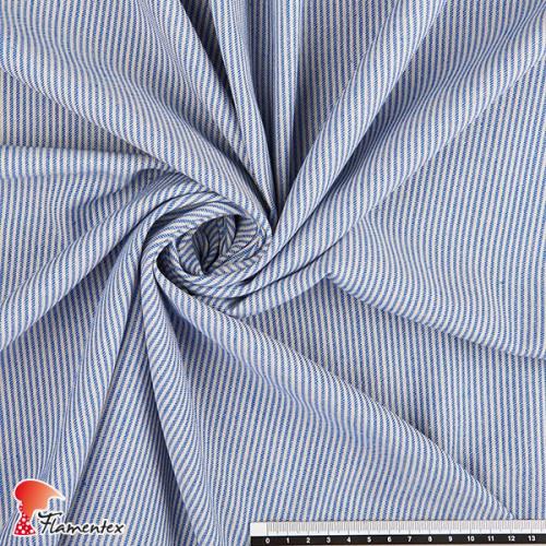 GUADALEST. Tejido de algodón con rayas horizontales.