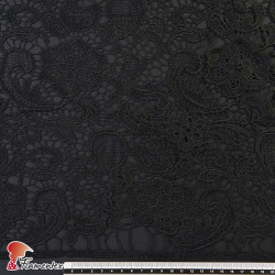 ISTAN. Guipure lace fabric.