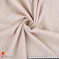 TORAZU. Tejido de algodón con rayas horizontales.