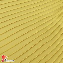DRAVA PLISADO. Tela de gasa fina perfecta para trajes de fiesta y/o para combinar con tejido de raso. OEKO-TEX Standard 100