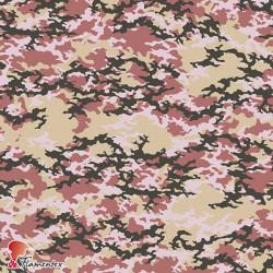 MASCARADA. Poplin fabric with military print. For sanitary material.